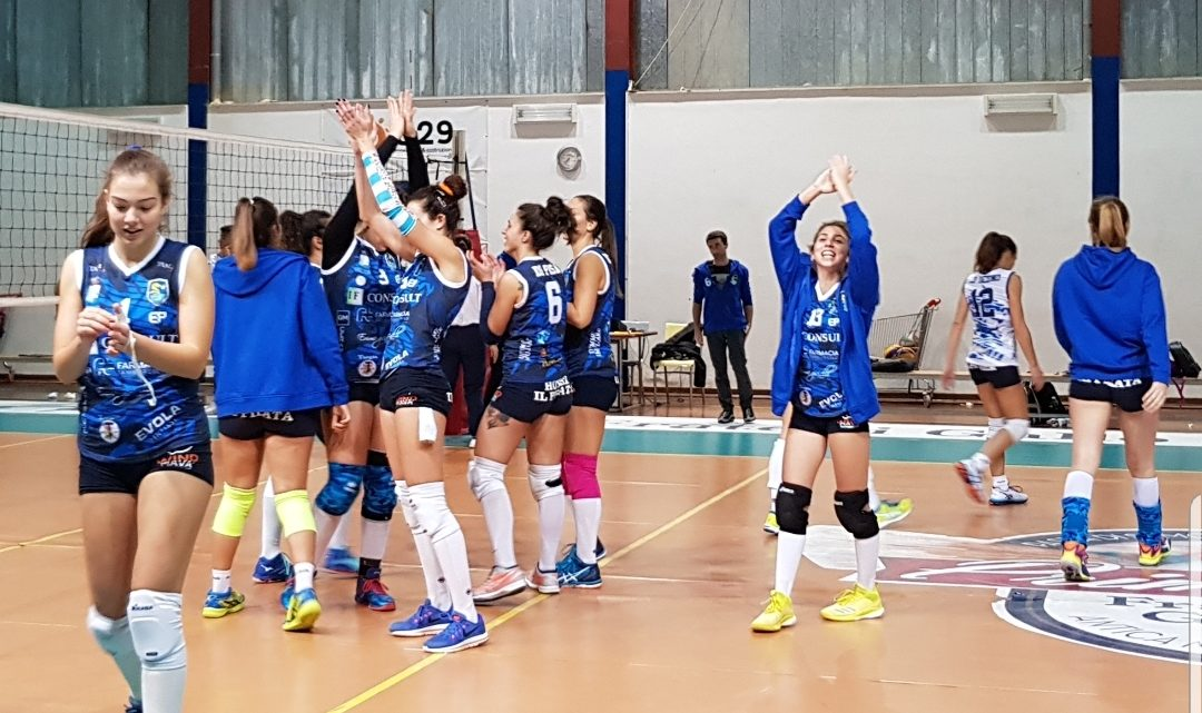 IL VOLLEY TERRASINI BATTE IL CASTELVOLLEY IN TRASFERTA 3-2